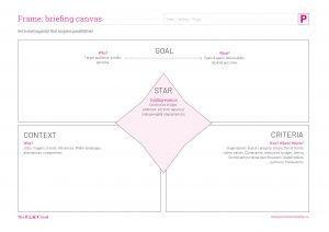 Briefing canvas worksheet