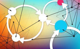 System thinking & feedback loops illustration