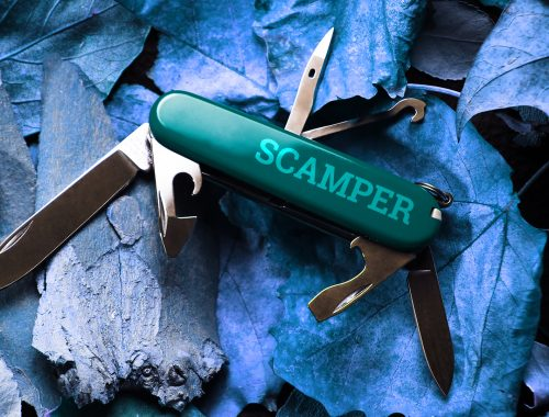 swiss army knife SCAMPER